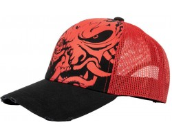Бейсболка Cyberpunk 2077 - Distressed Samurai Trucker