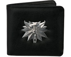 Гаманець JINX The Witcher - White Wolf Bi-Fold Wallet Black