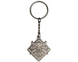 Брелок JINX The Witcher 3 Medallion Keychain