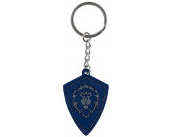 Брелок JINX World of Warcraft Keychain - Battle for Azeroth Alliance