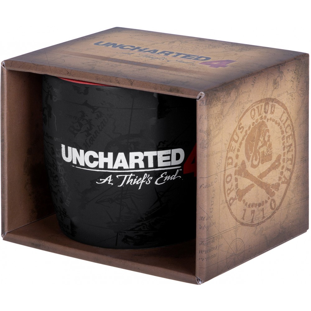 "Кружка Uncharted 4: A Thief's End ""Compass Map"""