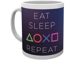 Кружка PlayStation - Eat Sleep Repeat