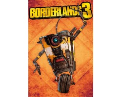 Постер Borderlands 3 - Claptrap