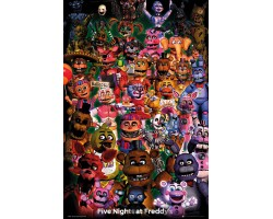 Постер Five Nights at Freddys - Ultimate Group