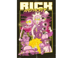 Постер Rick and Morty - Action Movie