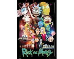 Постер Rick and Morty - Wars