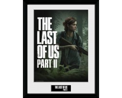 Постер в рамці The Last of Us Part II - Key Art