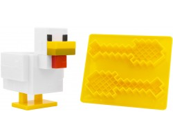 Набір посуду Minecraft - Chicken Egg Cup and Toast Cutter