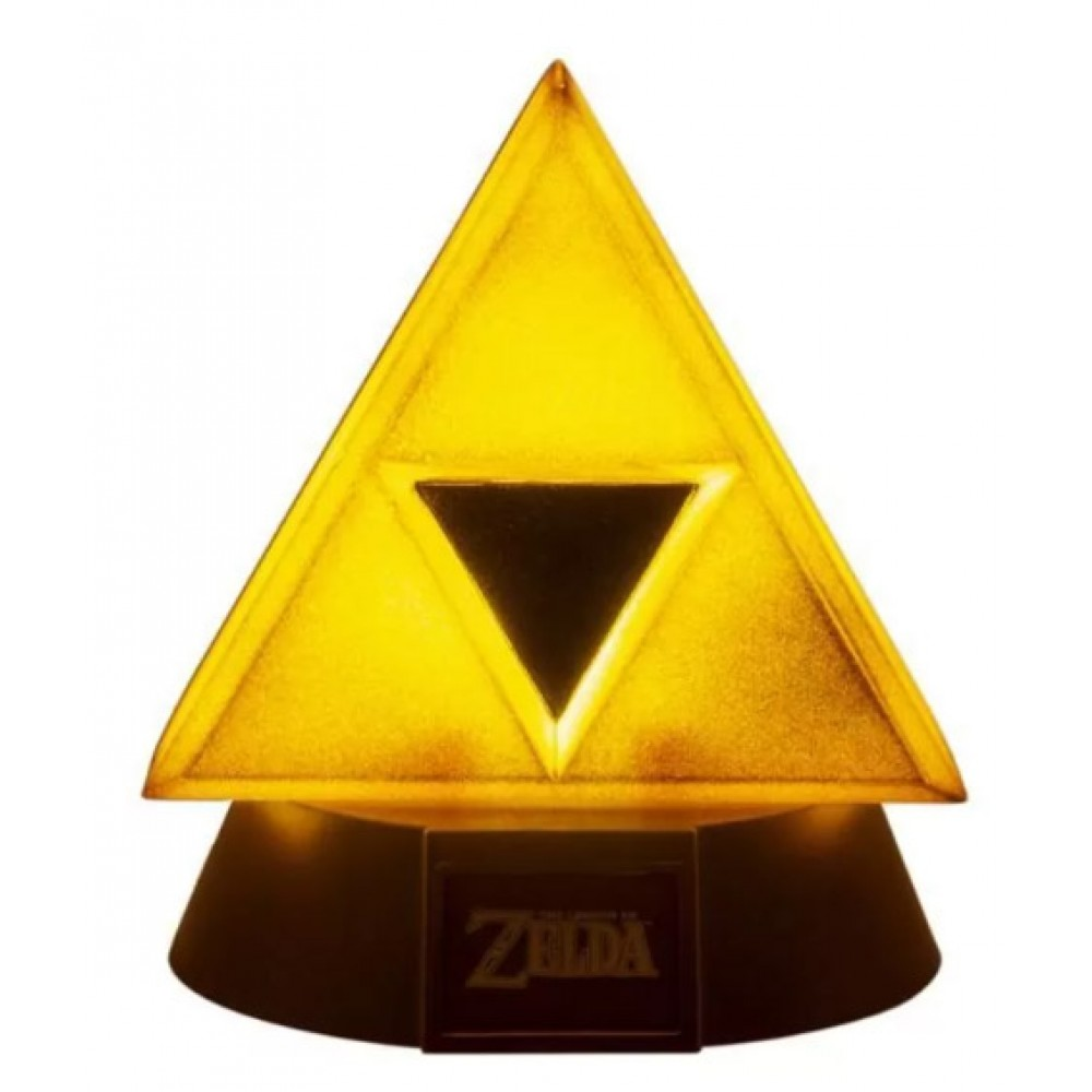Нічник Gold Triforce Icon Light
