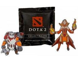 Значок Dota 2 Blindbox Collectible Pins-MultiColor