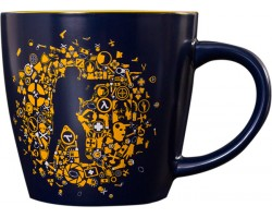 Кружка CS:GO Icon Splatter Mug-Navy
