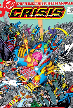 Тизер «Crisis on Infinite Earths»